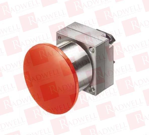 Siemens 3SB3501-1EA21 Push-Pull Red Mushroom Push Button  USED