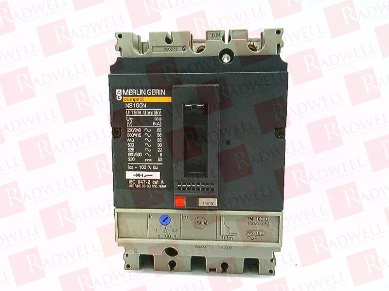 SCHNEIDER ELECTRIC NS100-160-250-N/H/NA 1