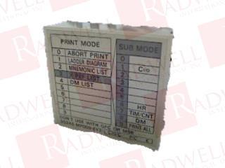 OMRON 3G2A5-MP009-EV2 0
