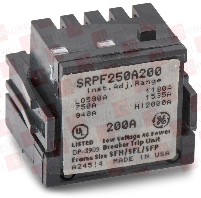 GENERAL ELECTRIC SRPF250A200
