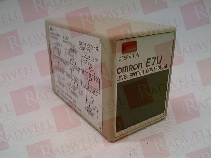OMRON E7U