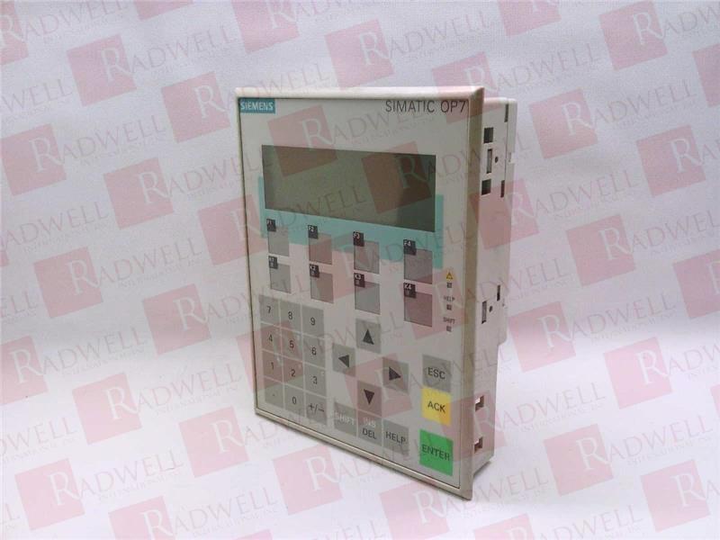 SIEMENS 6AV3607-1JC20-0AX1  2