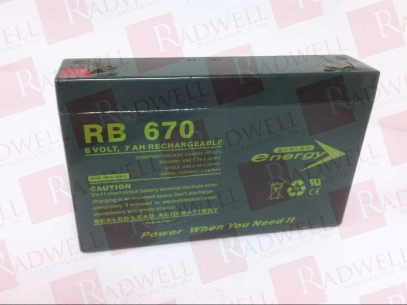 JASCO BATTERY RB670