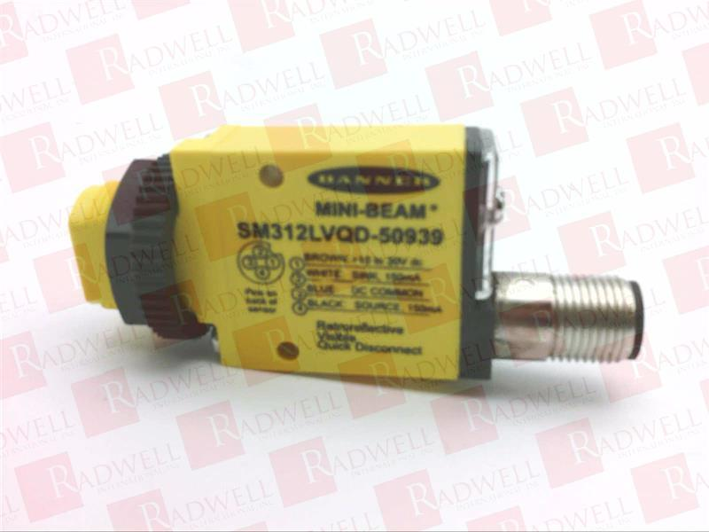 USED TESTED CLEANED SM312VQD BANNER ENGINEERING SM312VQD