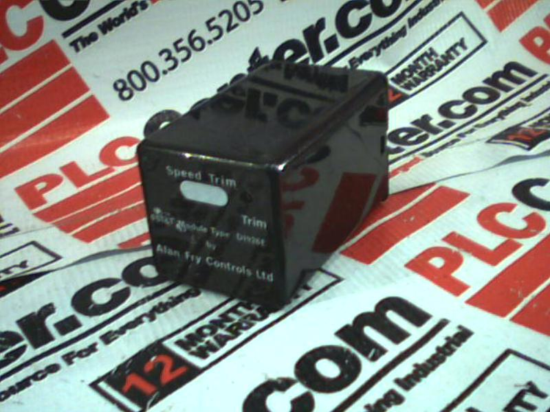 ALAN FRY CONTROLS LTD D1926E