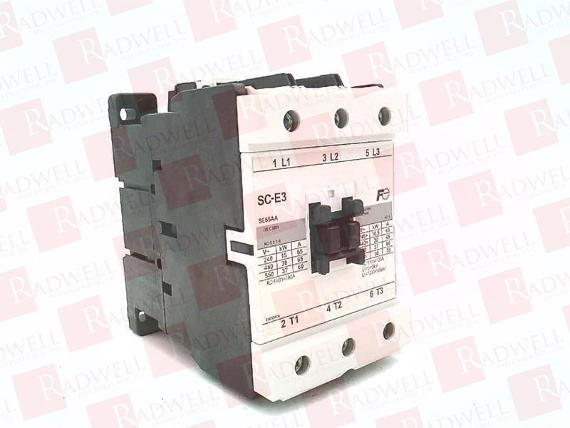 Fuji Electric Breaker SC-E3