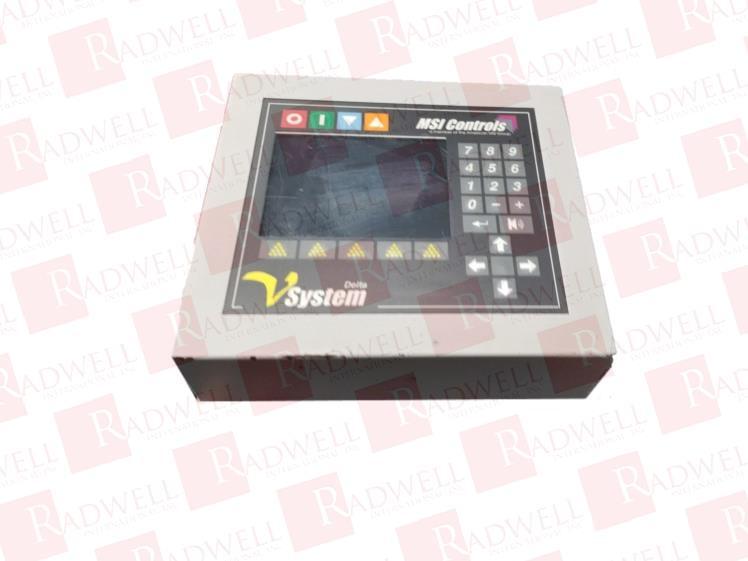 MSI CONTROLS DELTA VSYSTEM V12-12