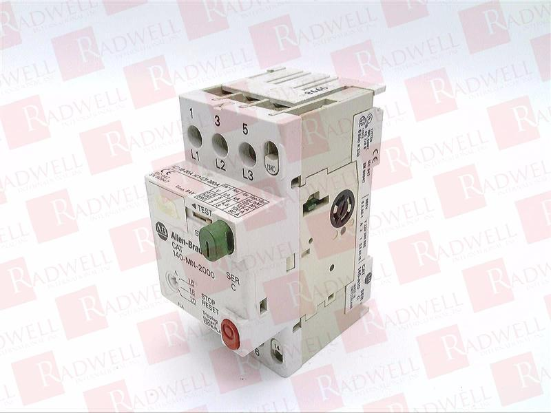 140-MN-2000 by ALLEN BRADLEY - Buy or Repair at Radwell - Radwell com