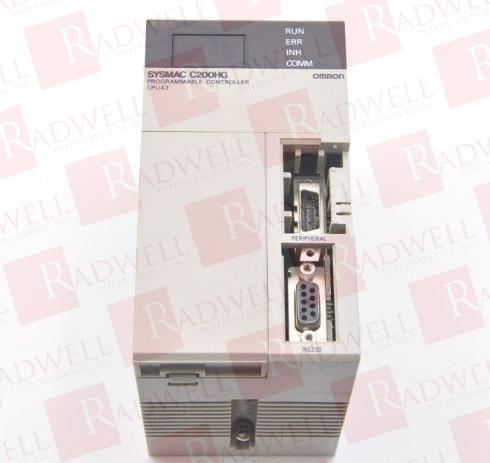 OMRON C200HG-CPU43-E 0