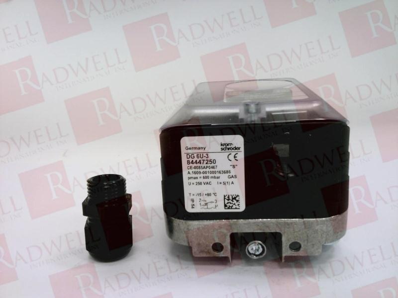 DG10U-3 DG150U-3 Pressure Switch for Gas Pressostat Air//Gas KromSchroder DG6U-3