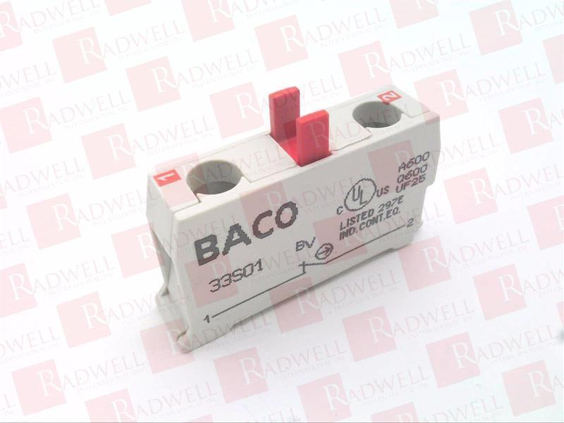 BACO CONTROLS 33S01