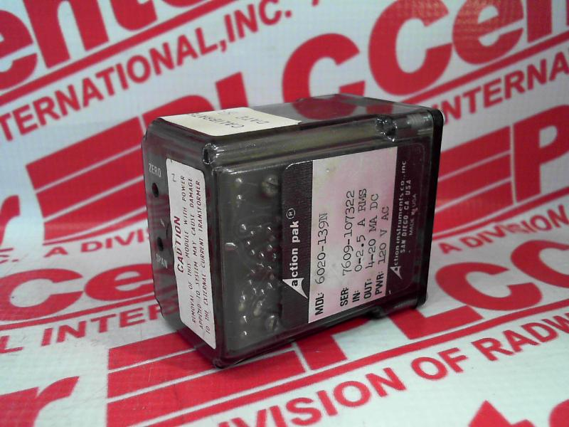 ACTION INSTRUMENTS 6020-139N