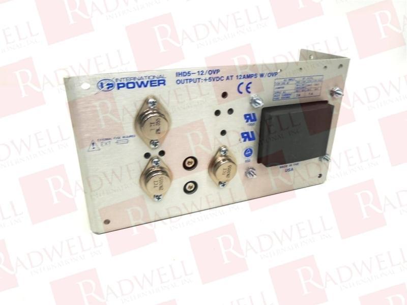 INTERNATIONAL POWER IHD5-12/OVP