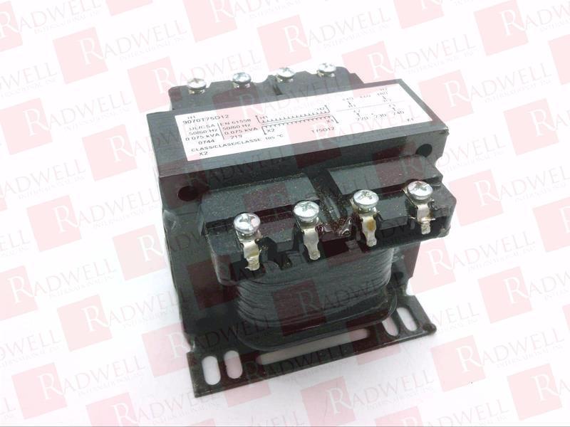 SCHNEIDER ELECTRIC 9070T75D12 0