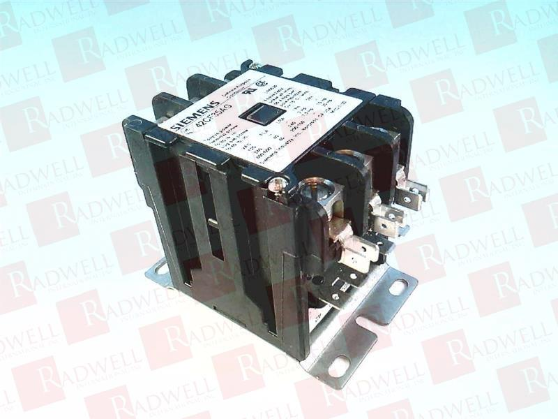 40 amp 3 pole Definite Purpose Contactor Siemens 42CF35AG Furnas