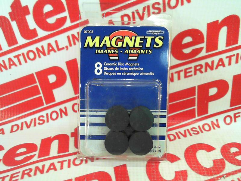 MASTER MAGNETICS INC 07003