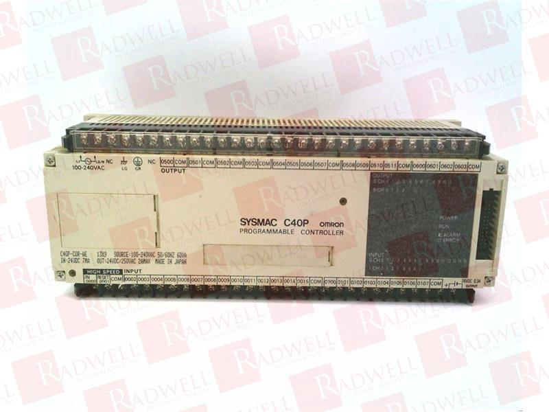 OMRON C40P-CDR-AE 0