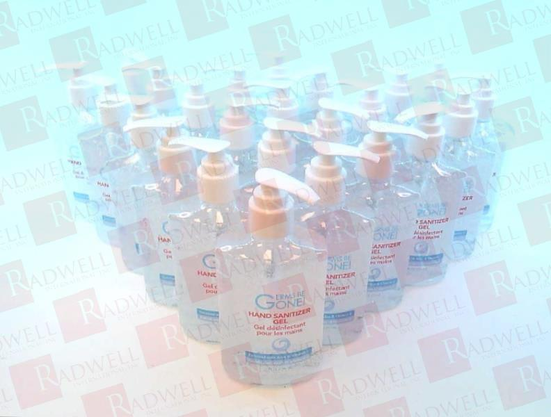 GERMS BE GONE GEL HAND SANITIZER 8OUNCE AMP6005