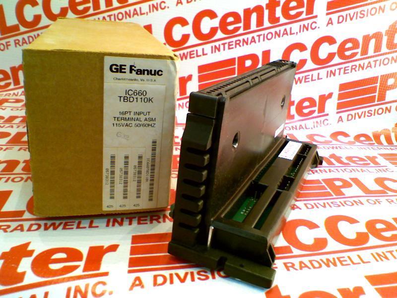 FANUC IC660TBD110 2
