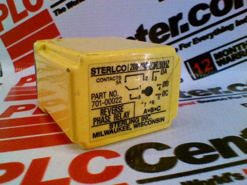 STERL TRONIC 701-00022
