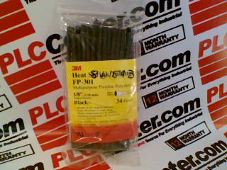3M FP-301-1/8-BLACK-6IN-PACK
