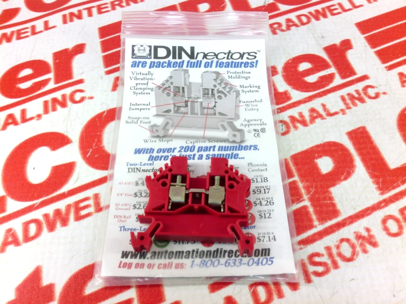 AUTOMATION DIRECT DN-T10RED