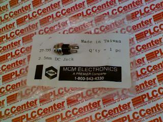 MCM ELECTRONICS 27-755