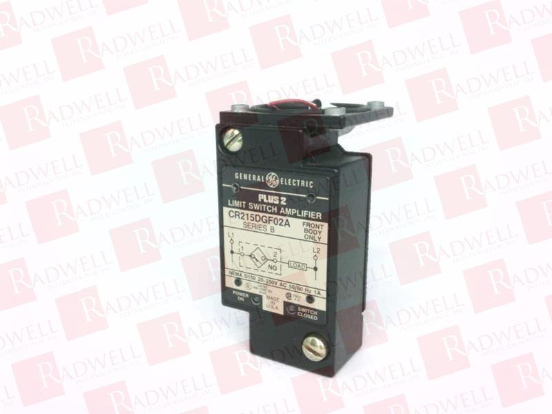 GENERAL ELECTRIC CR215DGF02A