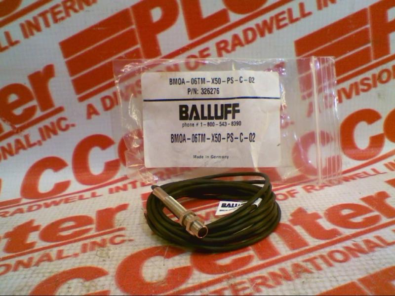 BALLUFF BMOA-06TM-X50-PS-C-02
