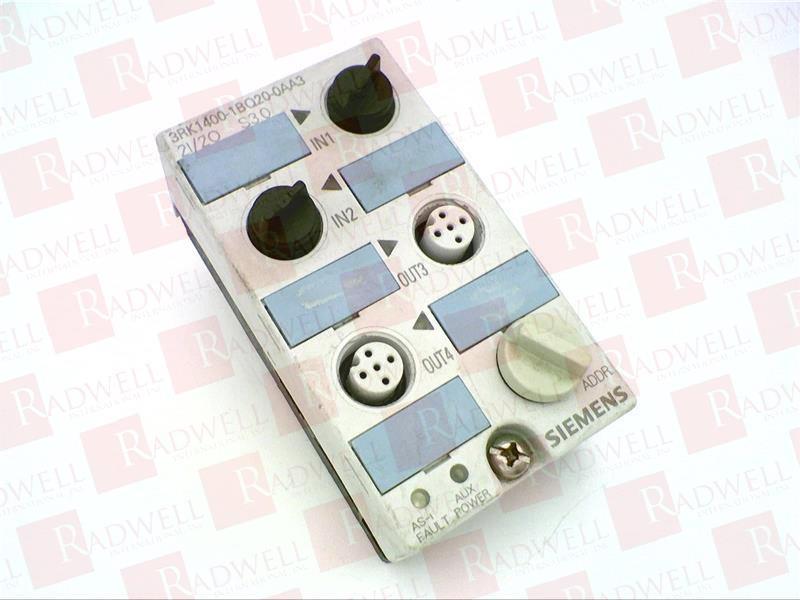 SIEMENS 3RK1400-1BQ20-0AA3 COMPACT MODULE NEW NO BOX