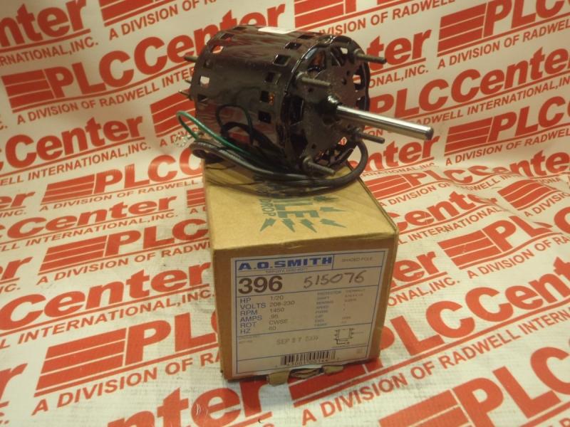 CENTURY ELECTRIC MOTORS 396