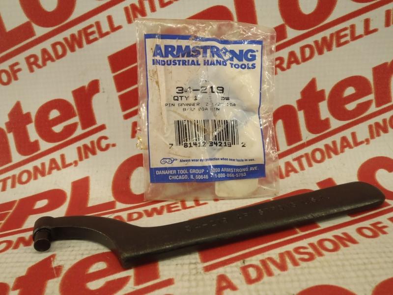 ARMSTRONG INTERNATIONAL 34-219