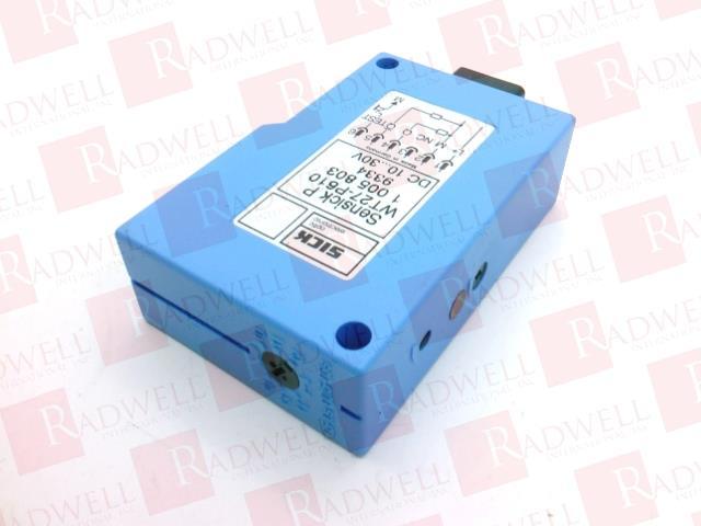 SICK OPTIC ELECTRONIC WT27-P610 1