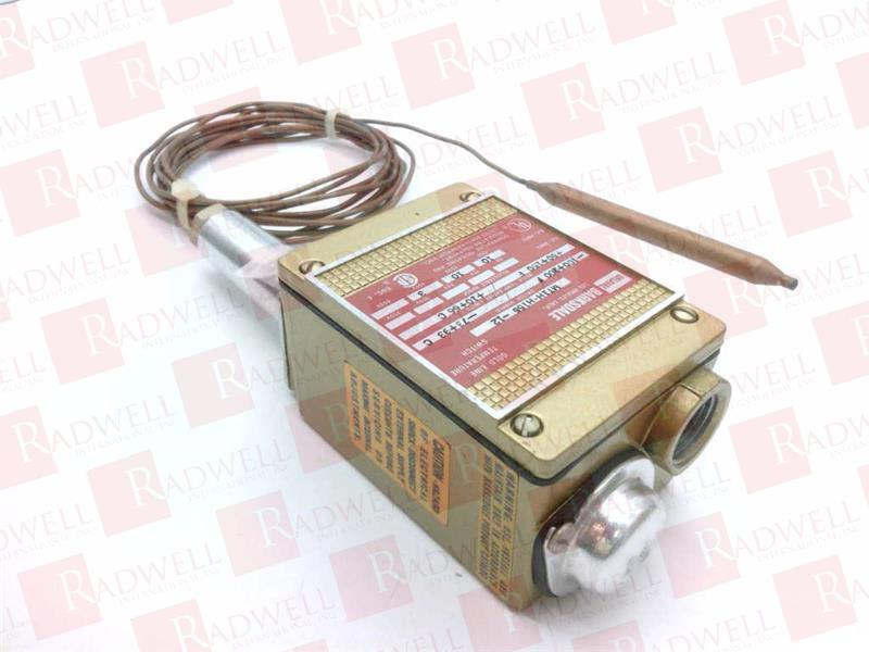 1POLE ONE Position MOMENTARY BARKSDALE MT1H-H155-12 Temperature Switch
