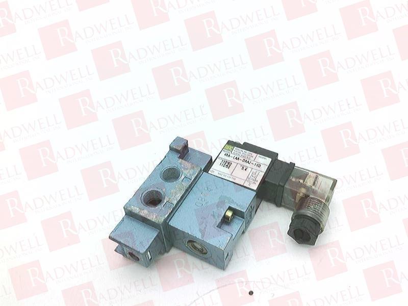 45A-LAA-DDAJ-1KD by MAC VALVES INC - Buy or Repair at Radwell ... on