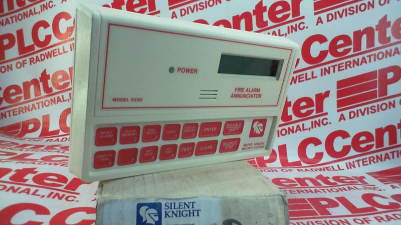 SILENT KNIGHT SECURITY SYS 5230