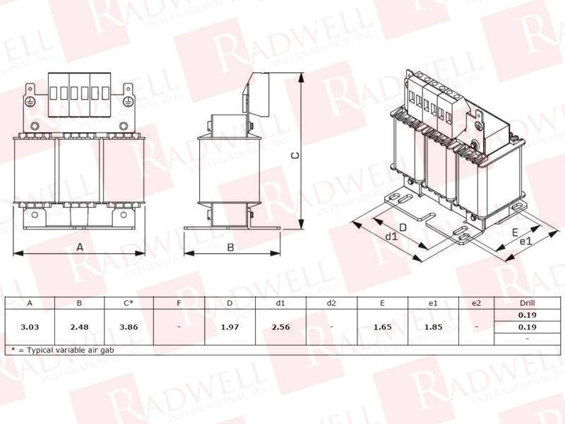 RADWELL VERIFIED SUBSTITUTE RL-00402-SUB
