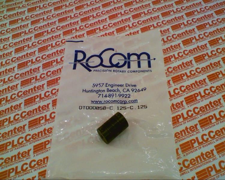 ROCOM DTOOO050-C.125-C.125