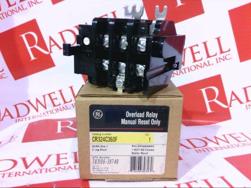 GENERAL ELECTRIC CR324-C360F