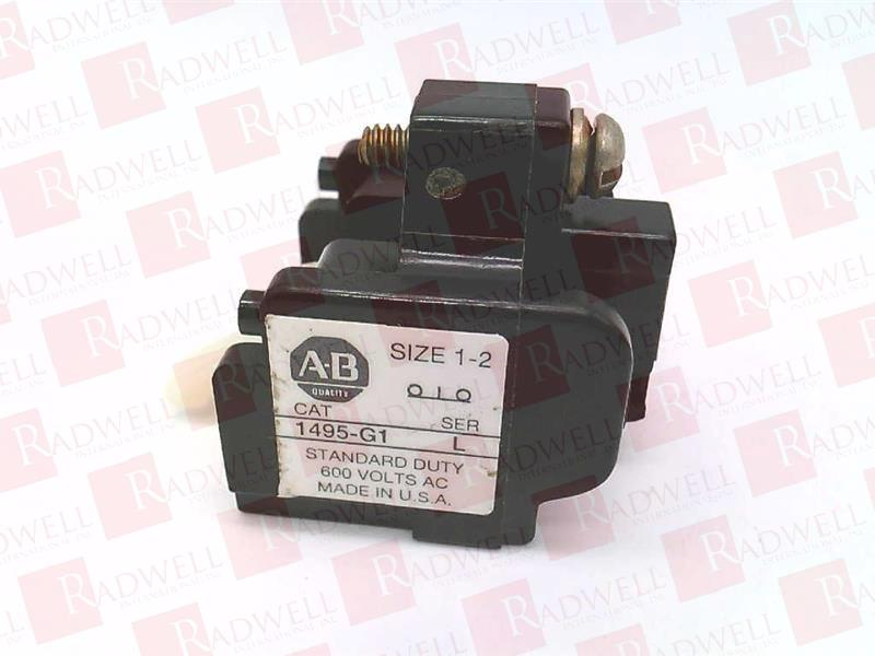 Auxiliary Contact Block N.C Contact New AB #1495-G1
