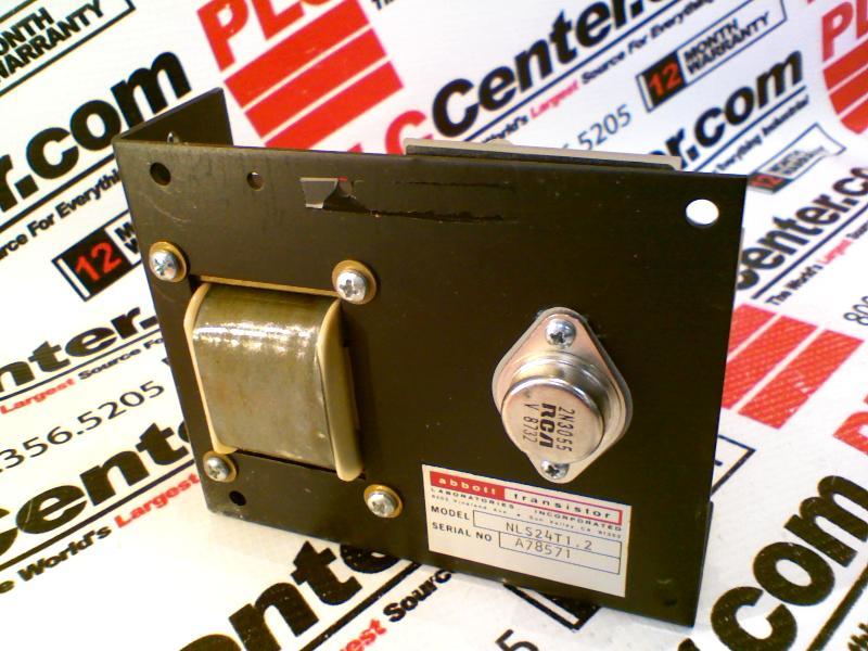 ABBOTT TECHNOLOGIES NLS24T1.2