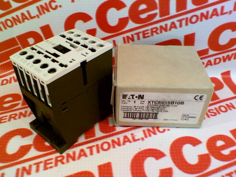 EATON CORPORATION XTCE015B10B 2