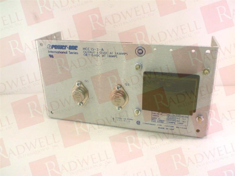 POWER ONE HCC15-3-A