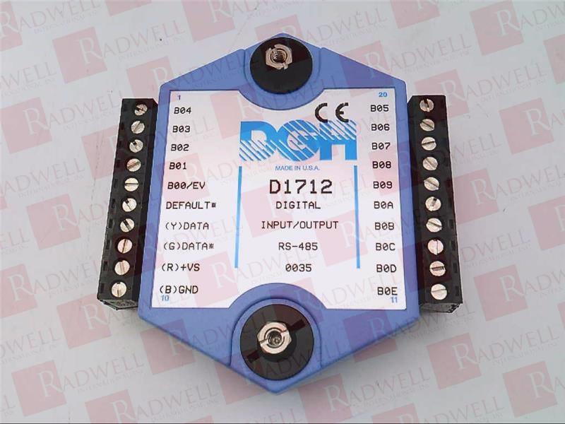 DGH CORP D1712