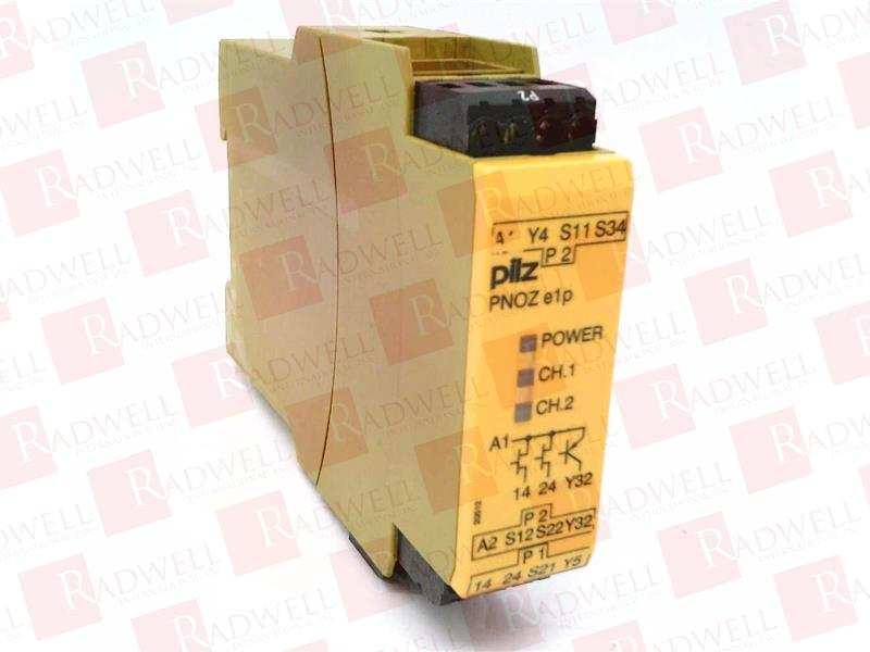 PILZ PNOZ E1P 24VDC 2N/O
