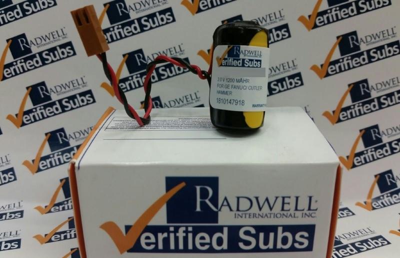 RADWELL VERIFIED SUBSTITUTE A02B-0177-K106-SUB