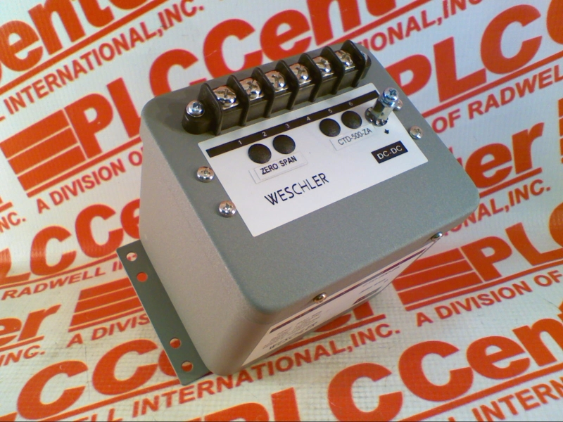 WESCHLER CTD-500-ZA