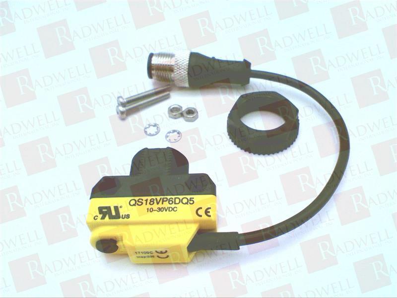 BANNER ENGINEERING QS18VP6DQ5 0