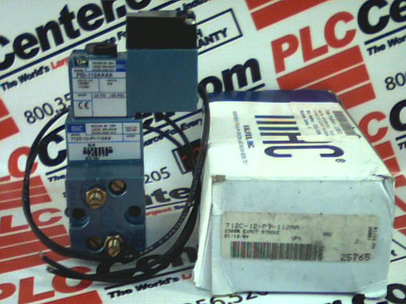 MAC VALVES INC 712C-12-PI-112AA 1