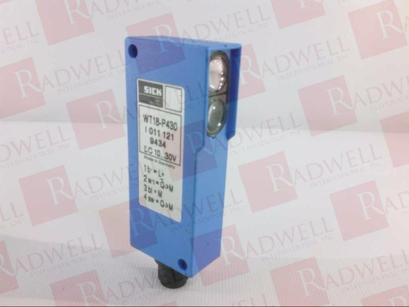 SICK OPTIC ELECTRONIC WT18-P430